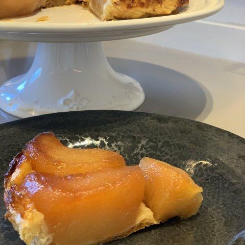 Torta de Maçã com Massa Folhada